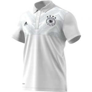 adidas Duitsland Polo 2017-2018 White Black
