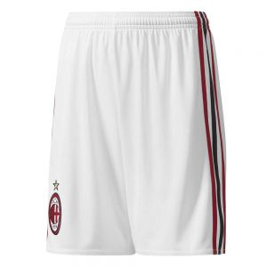 adidas AC Milan Thuisbroekje 2017-2018 White Victory Red Black