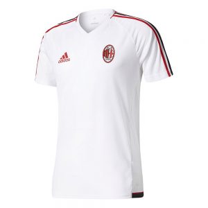 adidas AC Milan Trainingsshirt 2017-2018 White Victory Red
