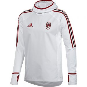 adidas AC Milan Trainingstrui Climawarm 2017-2018 White Victory Red Black