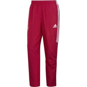 adidas Ajax Woven Trainingsbroek 2017-2018 Bold Red White