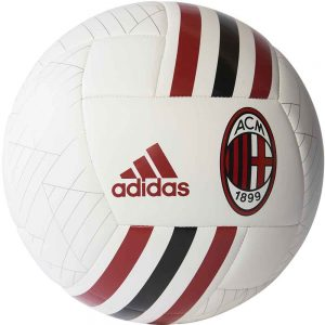 adidas AC Milan Finale Voetbal White Black Victory Red 2017-2018