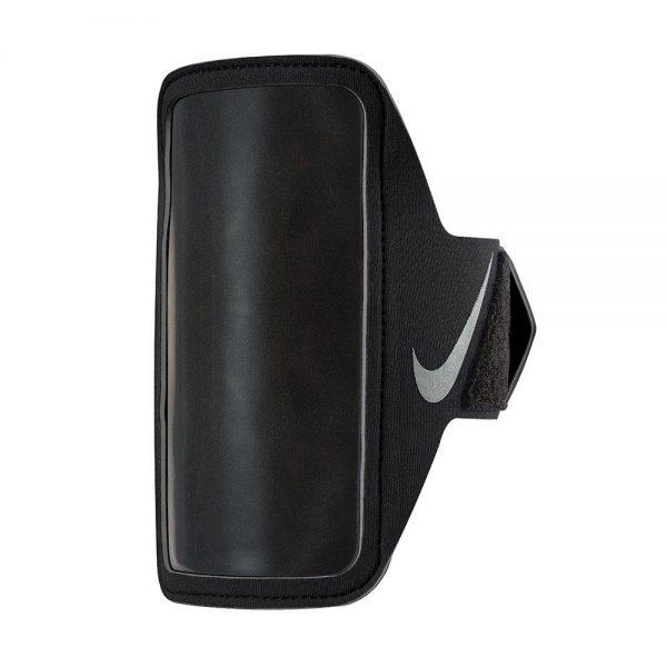 Nike Lean Arm Band Black Black Silver